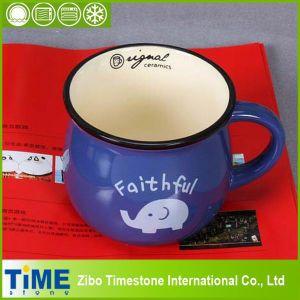 Blue Pretty Gift Ceramic Mug pictures & photos