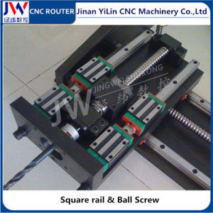 3030 / 4040 / 6060 Mini Metal CNC Router for Advertising Acrylic Wood Plastic pictures & photos