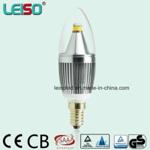 Patent 5W 90ra CREE Chip Scob E14 Candle Bulb (LS-B305-SB-CWWD/CWD) pictures & photos