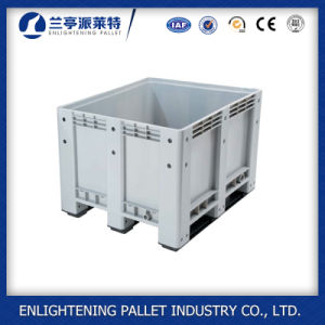 100% HDPE Plastic Storage Pallet Box Container pictures & photos