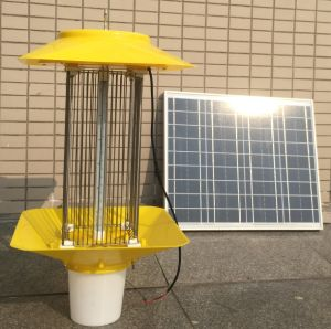 3W Imported LED Solar Outdoor Use Solar Insect Killing Lamp pictures & photos