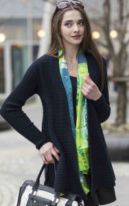 Ladies′ 100% Cashmere Sweater (1500002093) pictures & photos
