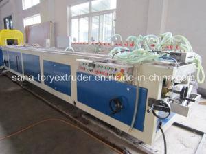 High Quality PVC Plastic Profile Extrusion Production Line pictures & photos