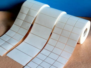 Rolled Heat Sensitive Printing Paper Labels (ST-056) pictures & photos