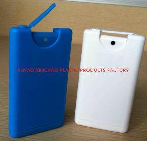 15ml Credit Card Hand Sanitizer Bottle, Plastic Credit Card Sprayer Pocket Sprayer pictures & photos
