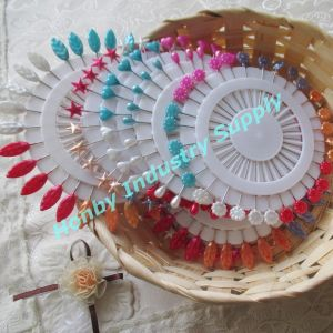 Colored 55mm Pearl Head Straight Pins for Decoration