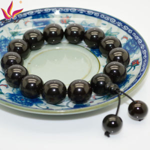 Tmb-020 15mm Germanium Tourmaline Beads with Buddha′s Head Beads Bangle pictures & photos