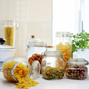 Food Glass Container, Food Glass Jar, Storage Bottle