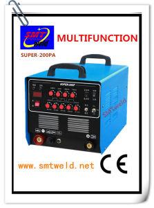 Inverter DC AC TIG MMA Cut Pulse Welder (SUPER-200PA)