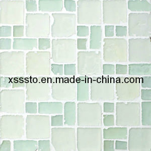 Shiny White Glass Mosaic Tile for Wall Decoration pictures & photos