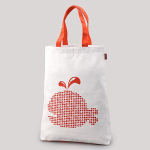 Cartoon Cotton Canvas Tote Handle Bag for Shopping pictures & photos