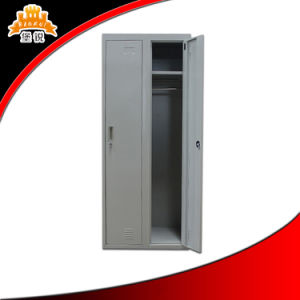 Steel Dressing Cupboard with Two Doors pictures & photos