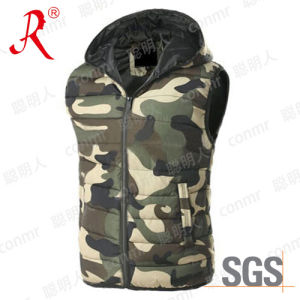 High Quality Wholesale Winter Warmer Polyester Vest (QF-816) pictures & photos