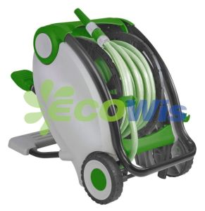 Automatic Garden Hose Reel with Foot Operation pictures & photos