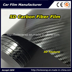 Hot 5D Carbon Fiber Film/5D Glossy Carbon/5D Carbon Fiber Foil pictures & photos
