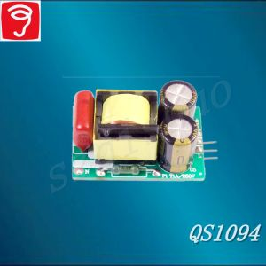 6-20W Non-Isolated Plug Fuorescent Lamp Power Supply with Pin QS1094 pictures & photos