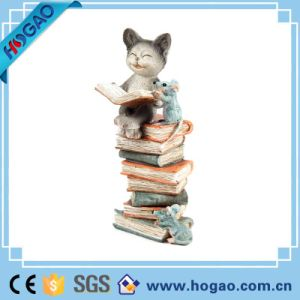 Popular Resin Garden Decoration Resin Dog Figurine pictures & photos