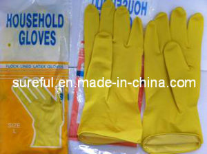 Latex Household Glove/Latex Rubber Glove (2014SFLG002) pictures & photos