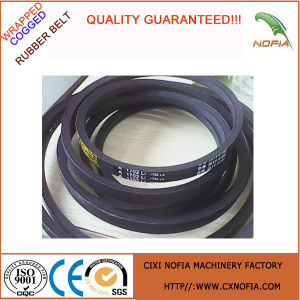 Excellent Durability and Flexibility Wrapped Belt for Small Pulleys pictures & photos