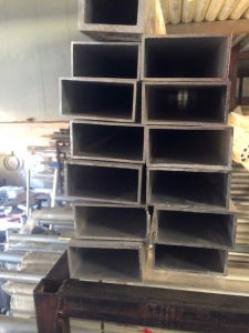 Aluminum Rectangular Tube, Aluminum Rectangular Pipe pictures & photos