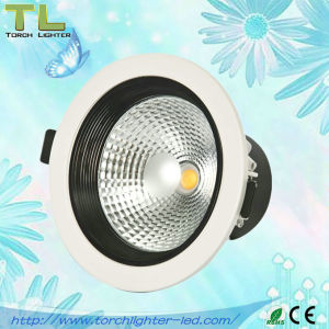 12W COB Round LED Downlight COB Indoor Lighting CE RoHS Approved