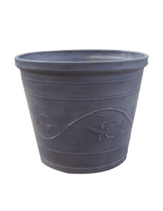 Big Recycled Plastic Flower Pot/Garden Planter (10EDG46)