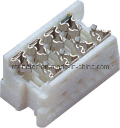 White 1.27mm 2.54mm Picoflex Connector, Header IDC Connector pictures & photos
