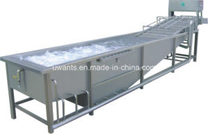 Automatic Potato Washing and Drying Machine pictures & photos
