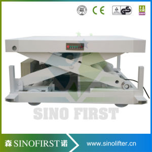 2000kg 2ton Static Scissor Lift Table pictures & photos