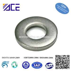 Custom Stainless Steel Gasket Flat Washer for Machines pictures & photos