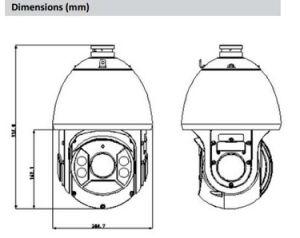 Dahua 2MP 25X Starlight IR PTZ Network Camera (SD6C225U-HNI) pictures & photos