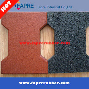 Outdoor Garden Playground Safety Rubber Floor Tile pictures & photos
