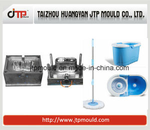 Mould of Economic and Suitable Plastic Mop Bucket pictures & photos