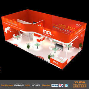 Wooden Trade Fair Exhibition Booth in Beijing pictures & photos