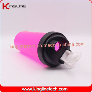 700ml High Quality BPA Free Plastic Protein Shaker Bottle with Filter (KL-7033) pictures & photos