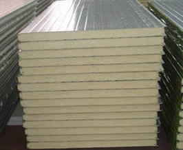 Polyurethane Sandwich Wall Panel/Rockwool Sheet pictures & photos