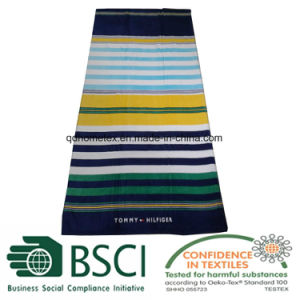 High Quality Beach Towel with Stripes Pattern