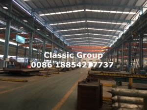 ISO SGS BV Quality Steel Frame Warehouse pictures & photos