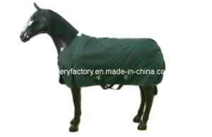 Dark Green Waterproof Breathable Winter Blankets (SMR2706) pictures & photos