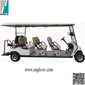 Electric Golf Carts, 8 Seat with Utility Cargo Box, Aluminum Chassis Frame, No Rusts, Taillights LED pictures & photos