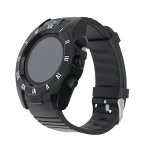 S5 Round Smart Watch with Camera Support SIM Card TF Bluetooth Fitness Tracker for Android Ios pictures & photos