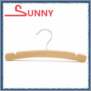 Curved Shape Child Top Hanger with Notches