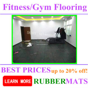 Indoor Outdoor Basketball Sports Court Rubber Fitness Tile Gym Flooring pictures & photos