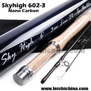 Carbon Fiber 6′ 2wt 3 Pieces Fly Fishing Rod pictures & photos