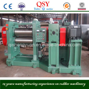 Two Roll Rubber Calender Machine Made in China pictures & photos