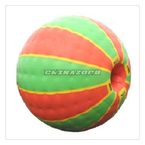 Nontransparent Colorful Inflatable Zorb Grassland Ball