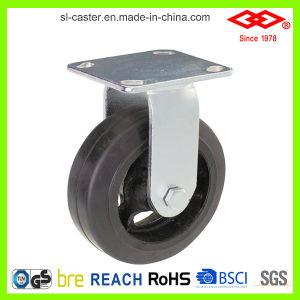 200mm Swivel Locking Balck Rubber Castor Wheel (P701-42D200X50S) pictures & photos