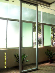 Movable Framed Glass Partition Wall for Hotel/Shopping Mall/Office/Showroom pictures & photos
