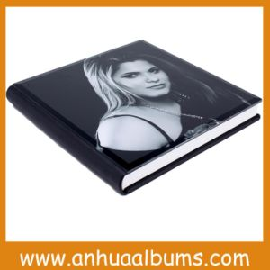 Glass Cover Custom Wedding Photo Album for Photographers