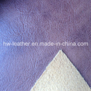 Hot Sale Embossed Leather for Shoes (HW-961) pictures & photos